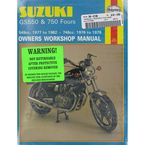 Suzuki GS550/GS750 Repair Manual - 363