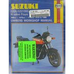 Suzuki Motorcycle Repair Manual - 737