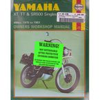 Yamaha Motorcycle Repair Manual - 342