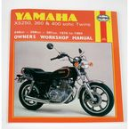 Yamaha Motorcycle Repair Manual - 378