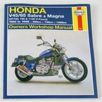 Honda Sabre/Magna Repair Manual - 820