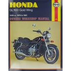 Honda GL1100 Gold Wing Repair Manual - 669