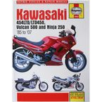 Kawasaki Motorcycle Repair Manual  - 2053