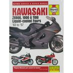 Kawasaki Motorcycle Repair Manual  - 1681