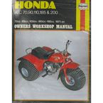 Honda Repair Manual - 565