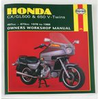 Honda Motorcycle Repair Manual  - 442