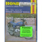 Honda CB400/CB550 Repair Manual  - 262