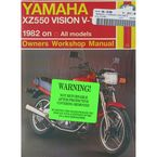 Yamaha XZ550 Vision Repair Manual  - 821