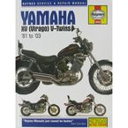 Yamaha Motorcycle Repair Manual  - 802