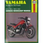 Yamaha XJ650/750 Repair Manual  - 738