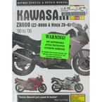 Kawasaki ZX600 Repair Manual  - 2146