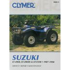 Suzuki Repair Manual - M483-2