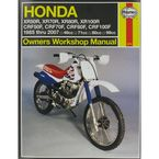 Honda Repair Manual - 2218