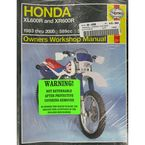 Honda Repair Manual - 2183