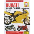 Ducati Motorcycle Repair Manual  - 3290