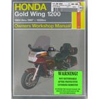 Honda Gold Wing 1200 Repair Manual - 2199