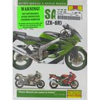Kawasaki ZX600 Repair Manual - 3541