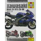 Kawasaki Ninja ZX-7R/ZX-9R Repair Manual - 3721