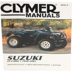 Suzuki Repair Manual - M343-2