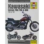 Kawasaki Vulcan Repair Manual - 2457