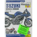 Suzuki SV650/SV650S Repair Manual - 3912