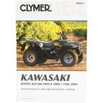 Kawasaki Repair Manual  - M466-4