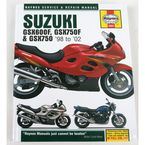Suzuki Motorcycle Repair Manual - 3987