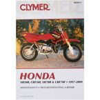 Honda Repair Manual - M319-2