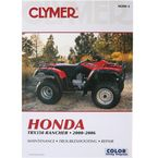 Honda Repair Manual - M200-2
