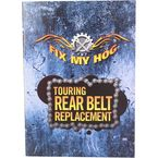 Harley Davidson Touring Rear Belt Replacement DVD  - Y0006R