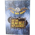 Harley Davidson Softail Rear Belt Replacment DVD  - T0009R