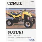 Suzuki Repair Manual  - M270-2