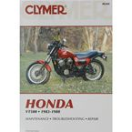 Honda Repair Manual  - M344