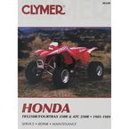Honda Repair Manual - M348