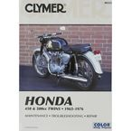 Honda Repair Manual  - M333