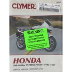 Honda Repair Manual  - M349