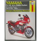 Yamaha Motorcycle Repair Manual - 2100