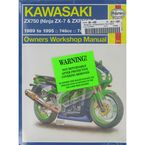 Kawasaki Motorcycle Repair Manual - 2054