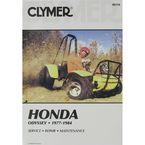 Honda Repair Manual - M316