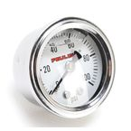 Oil Pressure Gauge w/White Face - 9042