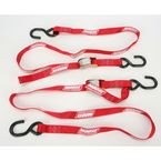 Red 1 in. Heavy-Duty Tie-Downs - 3920-0295