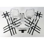 Aluminum Nerf Bars w/Net Heel Guards - Y041078