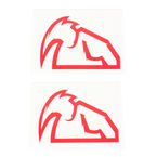Red Diecut Decals - 4320-1516