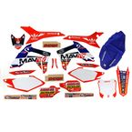 Troy Lee Designs Mav TV Graphics Kit w/White Number Plate Background - N40-1708