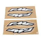 Small FMF Logo Side Arch Decals - 015232