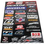 Small Logo Sticker Sheet - N30-1042