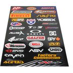 Small Logo Sticker Sheet - N30-1044