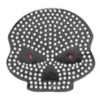 Red Eye Helmet Bling - PCHBSKULL