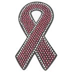 Pink Ribbon Helmet Bling - PCHBRIBBON