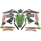 2015 Team Green Race Team Graphics Kit - N40-3751